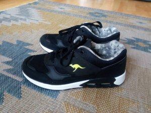 Kangaroos Sneaker Turnschuhe schwarz 37