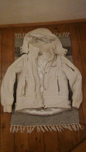Kangaroos Winterjacke weiß Größe 38