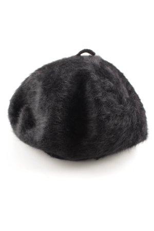Kangol Baskenmütze schwarz Elegant