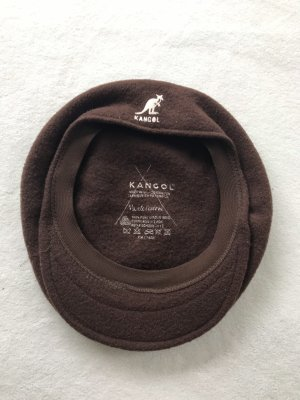 Kangol Berretto basco marrone scuro