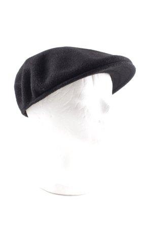 Kangol Cappello con visiera nero stile semplice