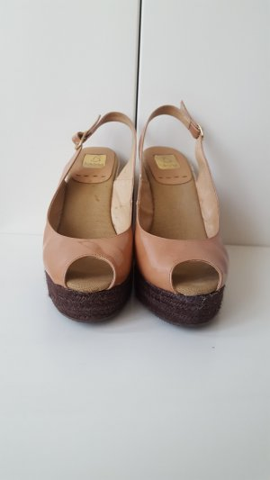 Kanna Berti wedge espadrille sandals, size 38