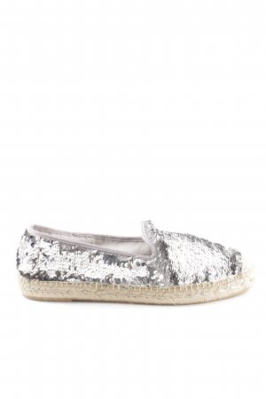 Kanna Espadrille Sandals silver-colored casual look