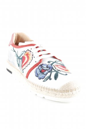Kanna Schnürsneaker florales Muster Casual-Look
