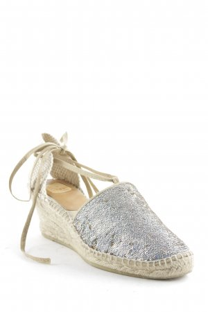 Kanna Wedge Sandals multicolored glittery