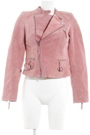Kapalua Bikerjacke rosa Biker-Look