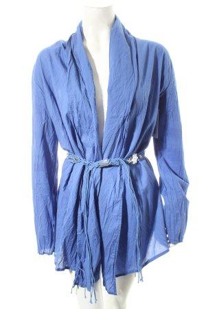 Kapalua Blusenjacke blau Casual-Look