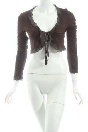 Kapalua Bolero braun Street-Fashion-Look