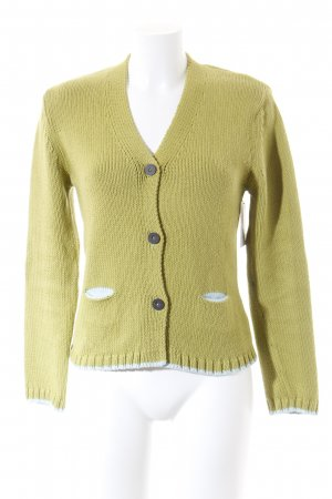 Kapalua Cardigan all'uncinetto verde stile casual