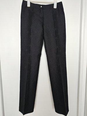 Kapalua Hose mit Muster aus Seide in Schwarz