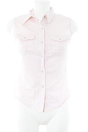 Kapalua Kurzarm-Bluse rosé Casual-Look