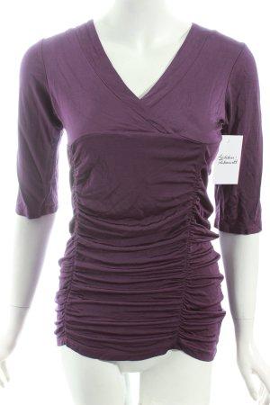 Kapalua Shirt dunkelviolett Casual-Look