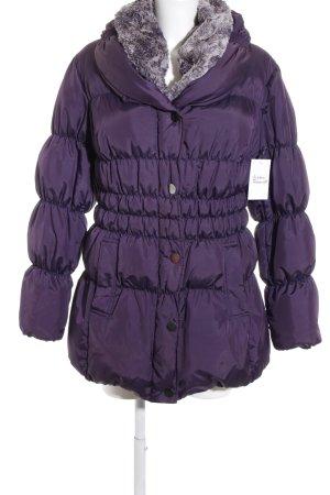 Kapalua Winterjacke braunviolett Casual-Look