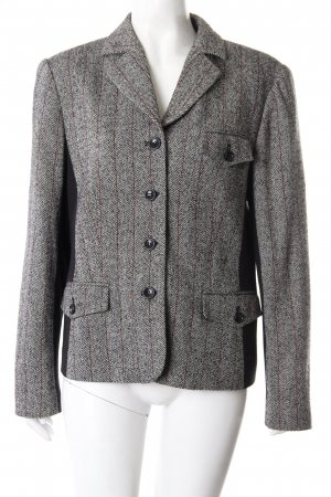 Kapalua wool blazer herringbone gray-black