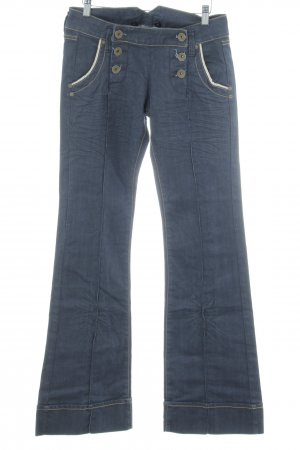 Kaporal Boot Cut Jeans dunkelblau schlichter Stil
