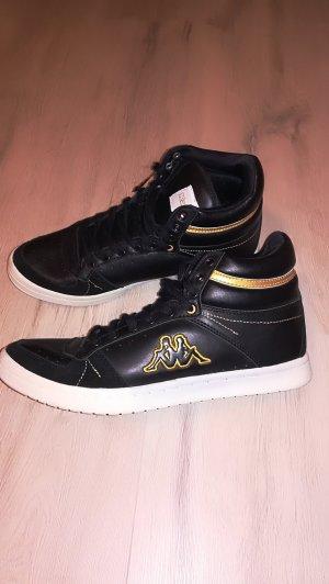 Kappa Sneaker schwarz/gold