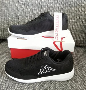 Kappa Sneaker Schwarz-Weiß Gr. 42
