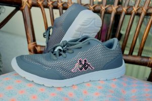 Kappa Sneakers rose / Grau Gr.38 / 39