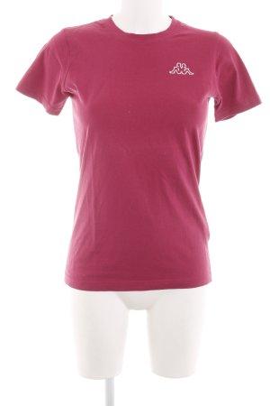Kappa Camiseta rosa look casual