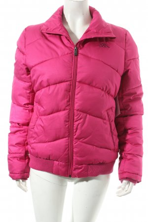 Kappa Winterjacke pink Steppmuster Casual-Look
