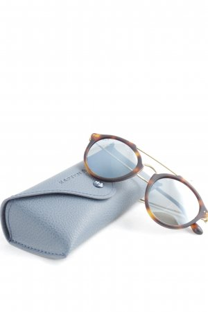 Kapten & Son Glasses brown-gold-colored
