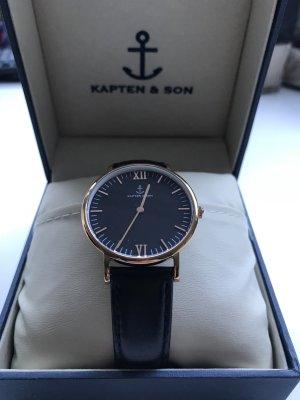 Kapten & son Uhr schwarz