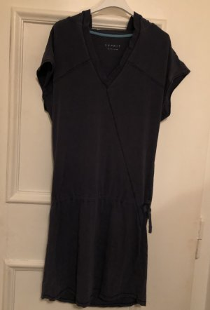 Esprit Hooded Dress dark blue