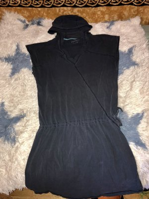 Esprit Hooded Dress dark blue