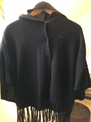 H&M Divided Wollen Jack donkerblauw