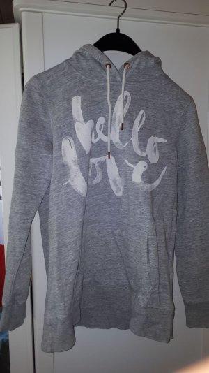 H&M Jersey con capucha gris claro