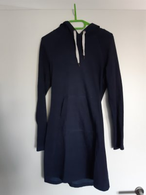 HM Hooded Dress dark blue