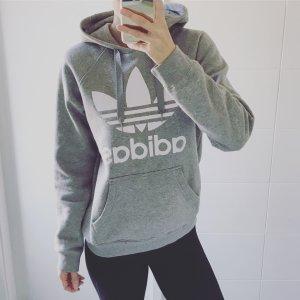 Adidas Felpa con cappuccio grigio-grigio chiaro