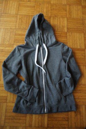 Kaputzensweater mit Zipper