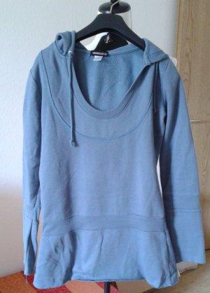 FlashLights Jersey con capucha azul celeste