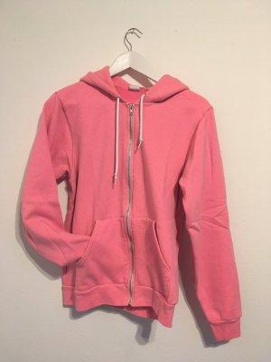American Apparel Hooded Sweatshirt neon pink