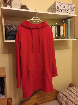 Bershka Long Sweater red