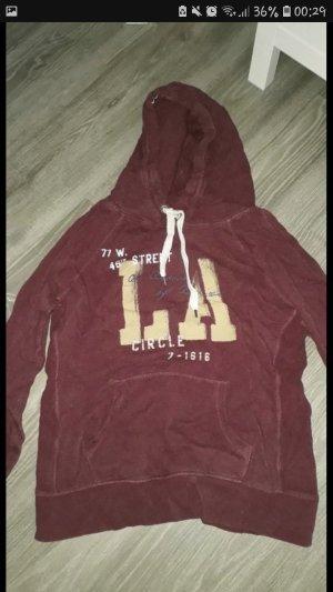 H&M L.O.G.G. Sweater donkerrood