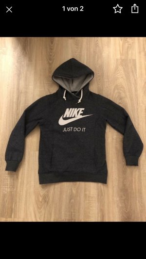Nike Capuchon sweater donkergrijs-donkerblauw
