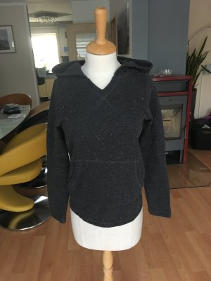 Jersey con capucha gris-negro