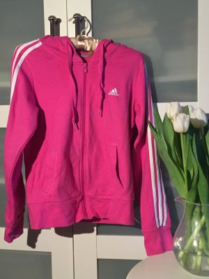 Kapuzen-Sweatjacke, Pink, Adidas