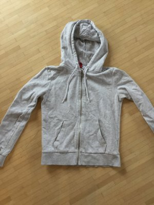 H&M Divided Veste sweat argenté-gris clair