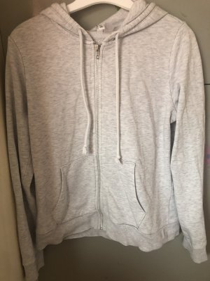 H&M Divided Veste chemise blanc-gris clair