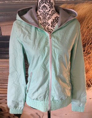 Kapuzenjacke in Mint
