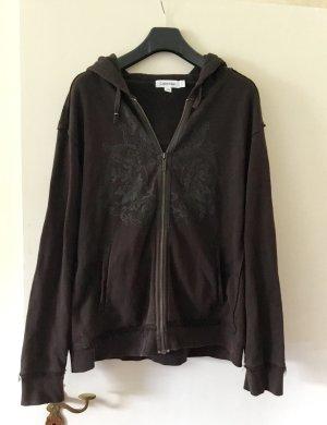Calvin Klein Hooded Sweatshirt dark brown