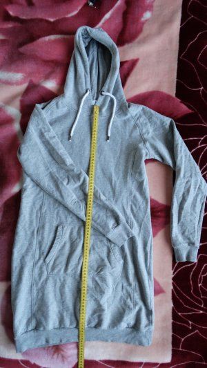 Blue Motion Vestido con capucha gris claro-blanco