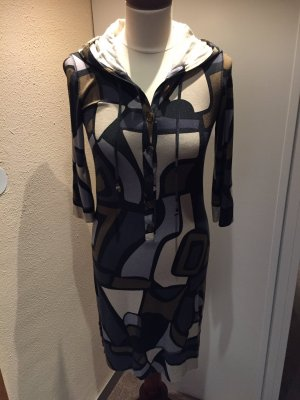 Hooded Dress multicolored