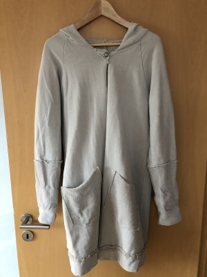 Hooded Coat light grey