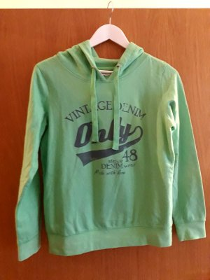 Only Hooded Sweater green