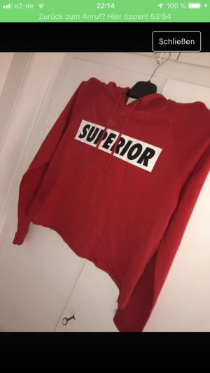 FB Sister Hooded Sweater red