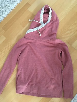 Review Hooded Sweater pink-mauve